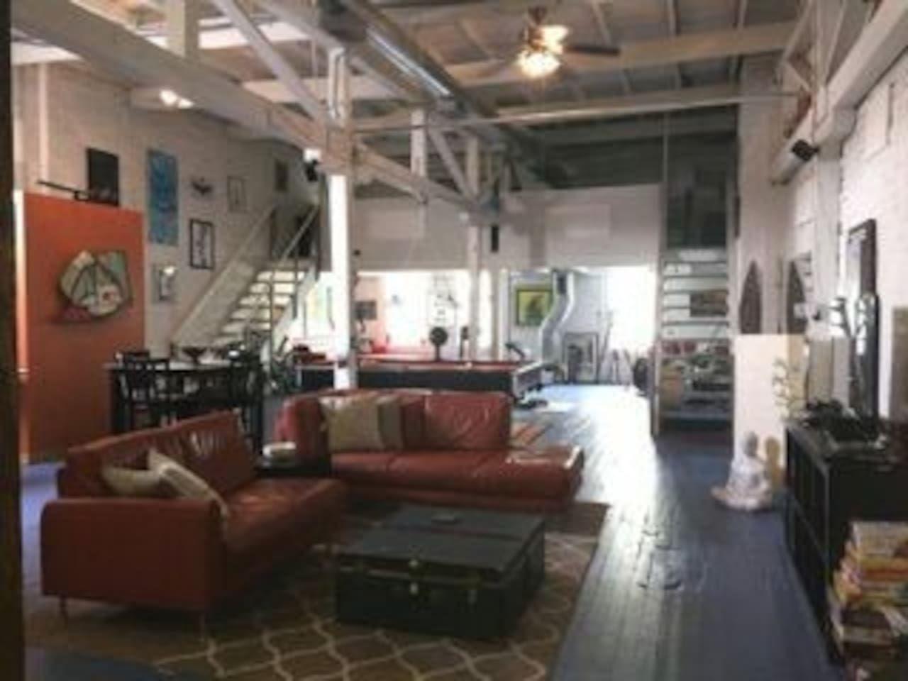 Artsy loft castleberrydowntown lofts for rent in