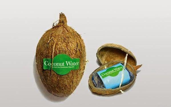 Agua de Coco Diseño de empaque creativo - Coconut water Creative product packaging ♥it by Taip.Net Creative Concepts + Solutions & I love #PANAMA