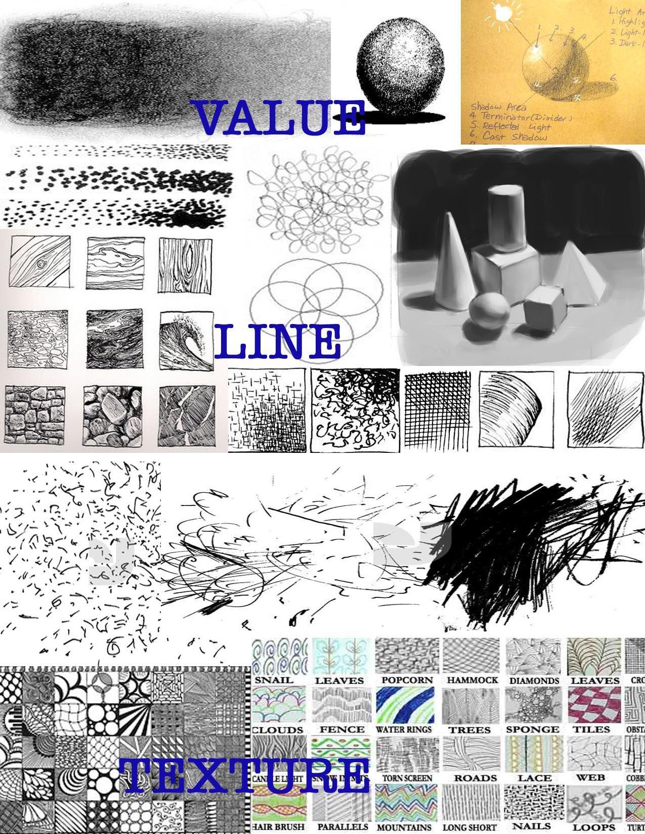 Value Line Texture