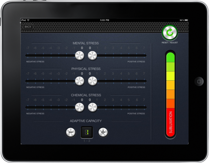Product of the Week | ChiroStressOmeter from Full Circle Coaching & Consulting is a Web-based software application designed to help you serve more people by enhancing patient education. It allows you to better educate your practice members and the community in the most interactive way via your iPad.