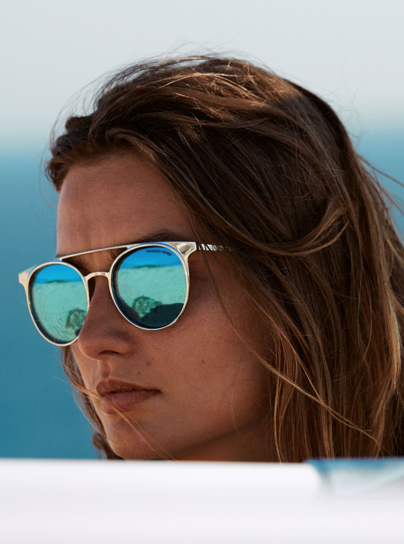 6645f27c30da From Michael Kors, the Grayton Sunglasses. Designed in a rounded silhouette  with a double