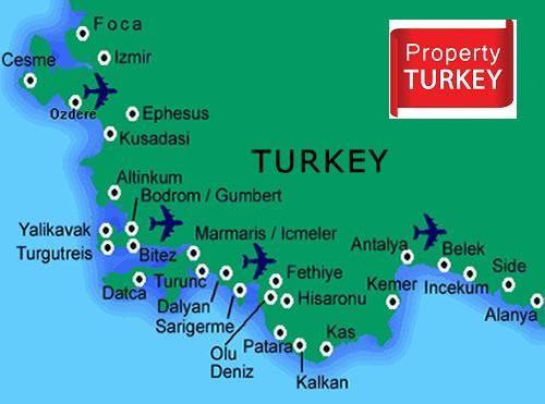 Turkey Real Estate Map Real Estate Estates