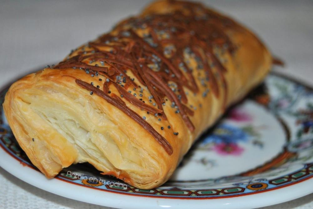 Napolitanas De Jamón Y Queso Receta Fácil Antojo En Tu Cocina Recipe Brunch Food Bread