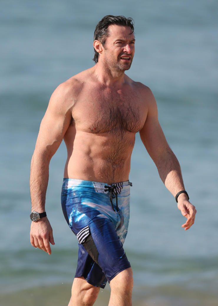 The Fittest Celebrity Bodies Of 2014: Pin On Hugh Jackman