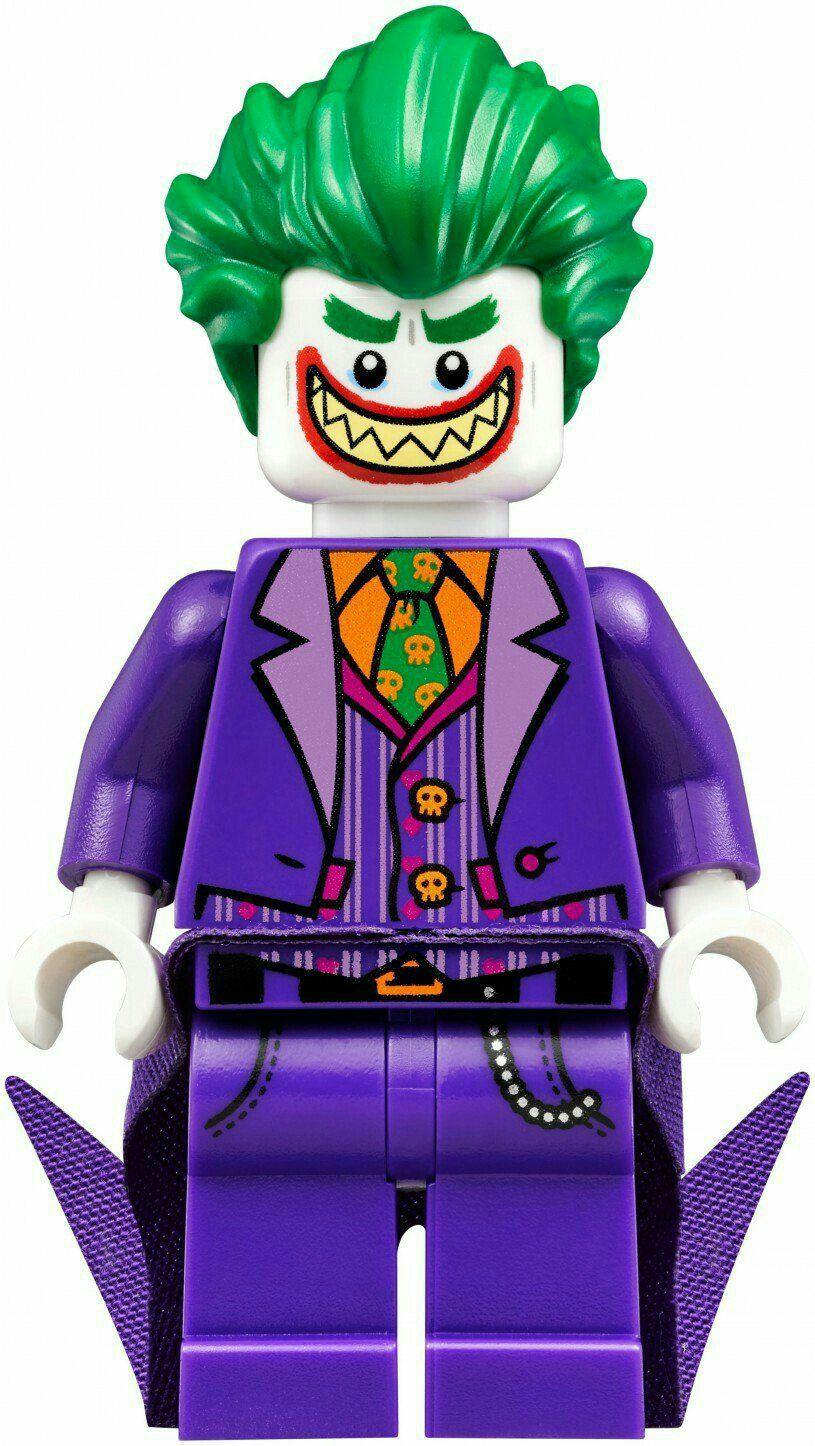 NEW LEGO JOKER MINIFIG from Joker Manor 70922 minifigure batman movie villain