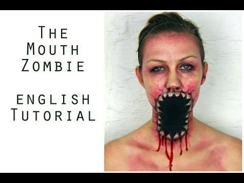 Halloween Make Up - Zombie tutorial (english) Jenni Copper - zombie halloween ideas