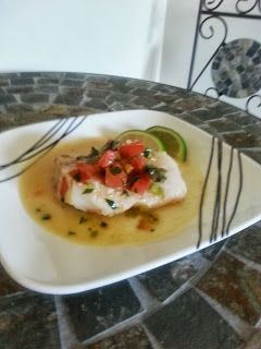 Mexican Style Cod with Lime