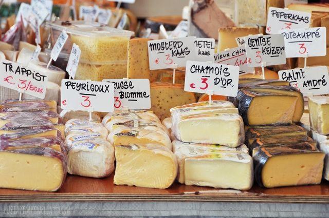 luzia pimpinella | travel - food shopping | der zaterdagmarkt in antwerpen, belgien | the zaterdagmarket in antwerp, belgium