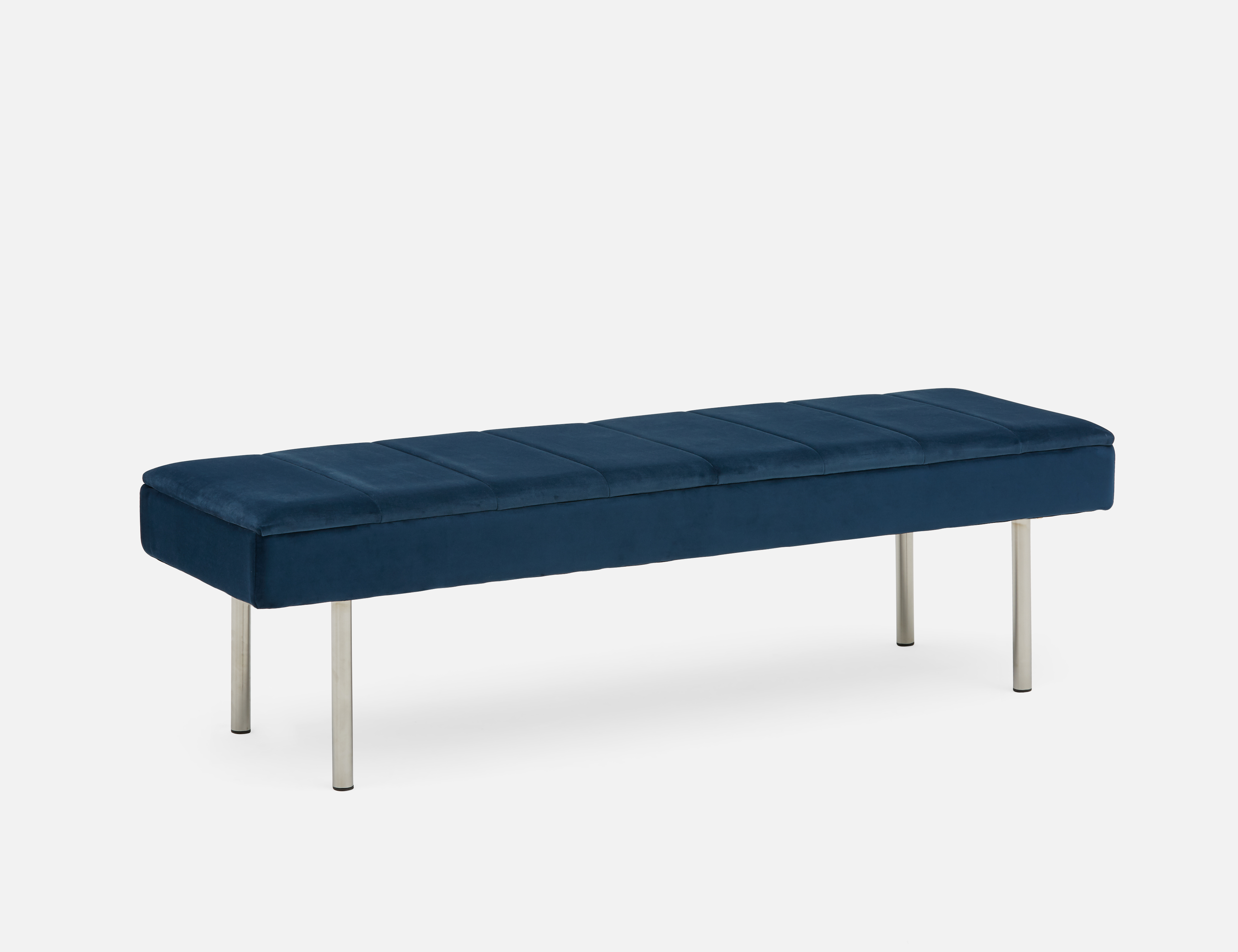 Awesome Irma Blue Bench Products In 2019 Dining Room Bench Dailytribune Chair Design For Home Dailytribuneorg
