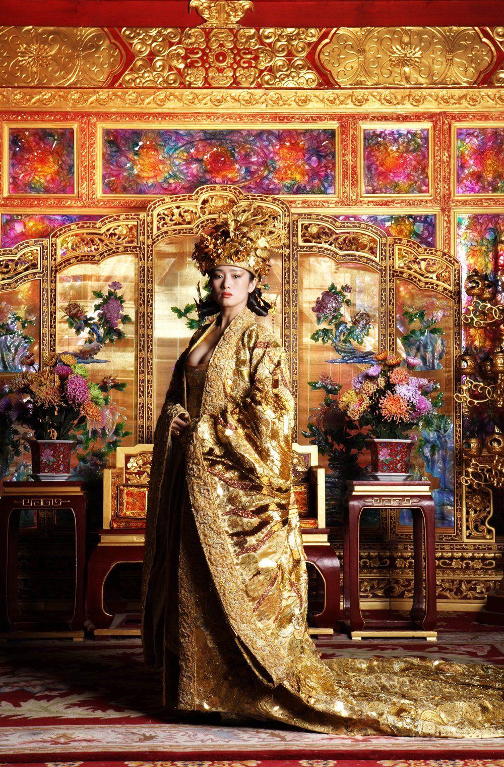 Curse Of The Golden Flower Gong Li