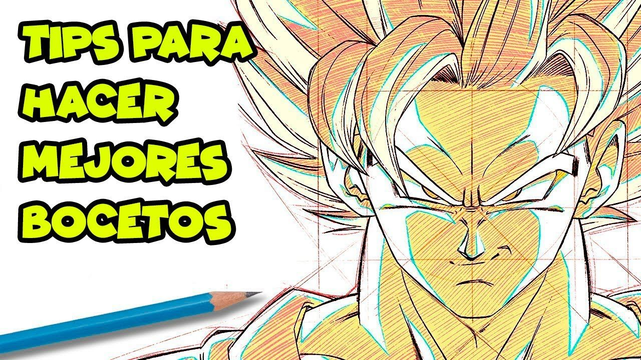 Trucos Y Consejos Para Dibujar Mejor Dibujos De Goku Dibujo De Goku Mejor Dibujo Dibujos
