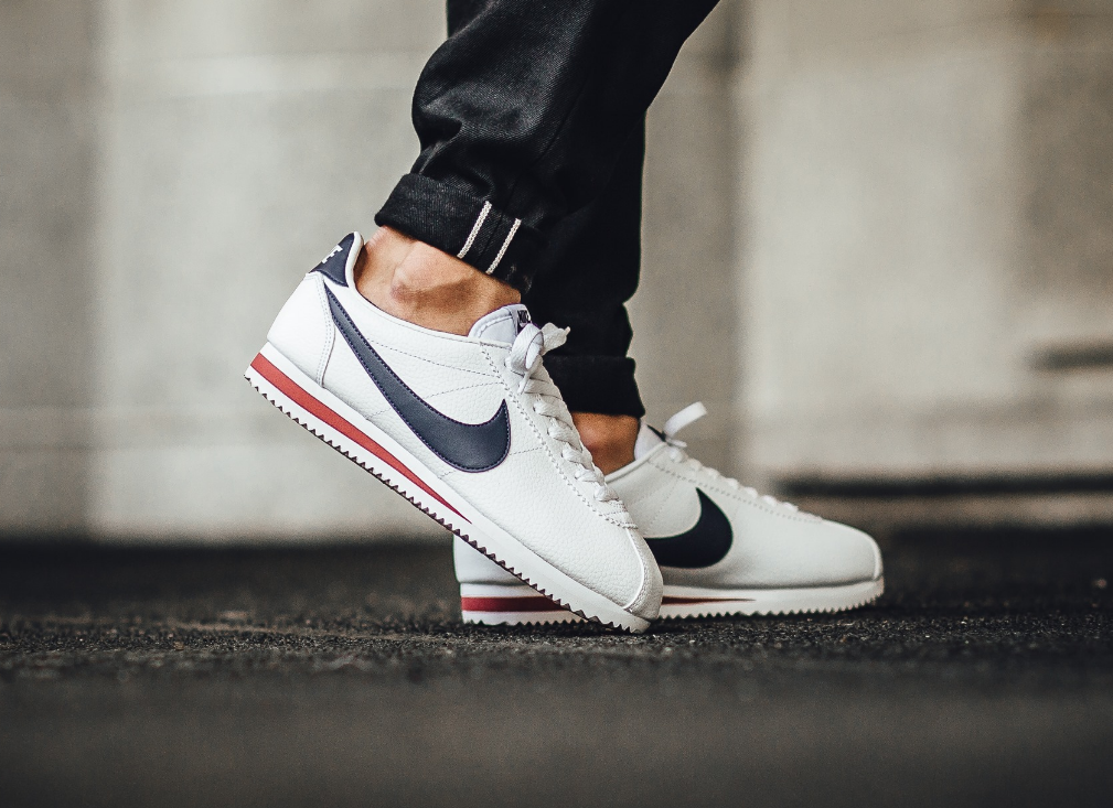 Salute To The Nike Cortez Leather USA | Nike cortez leather ...