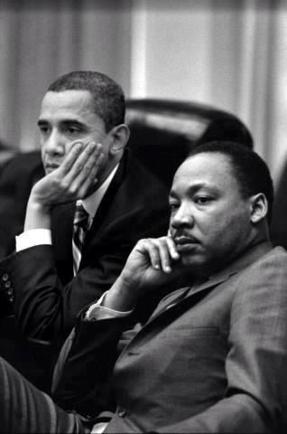 Two civil rights warriors.