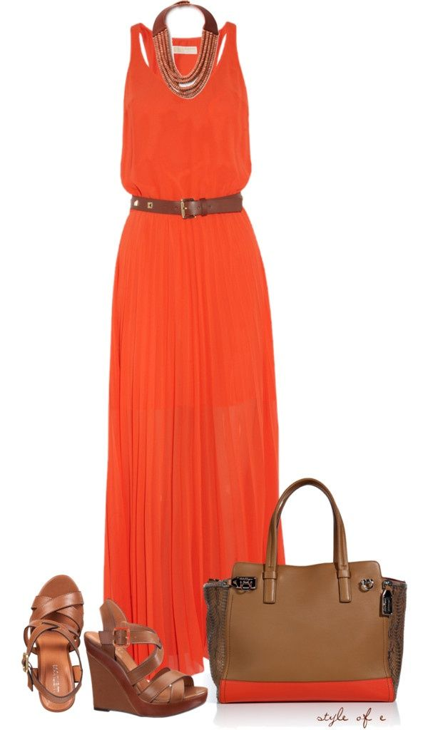 """""""Michael Kors Dress"""" by styleofe ❤ liked on Polyvore"""