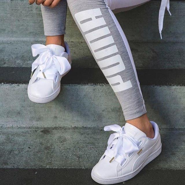 Basket bow sneakers - White Puma WwP9K