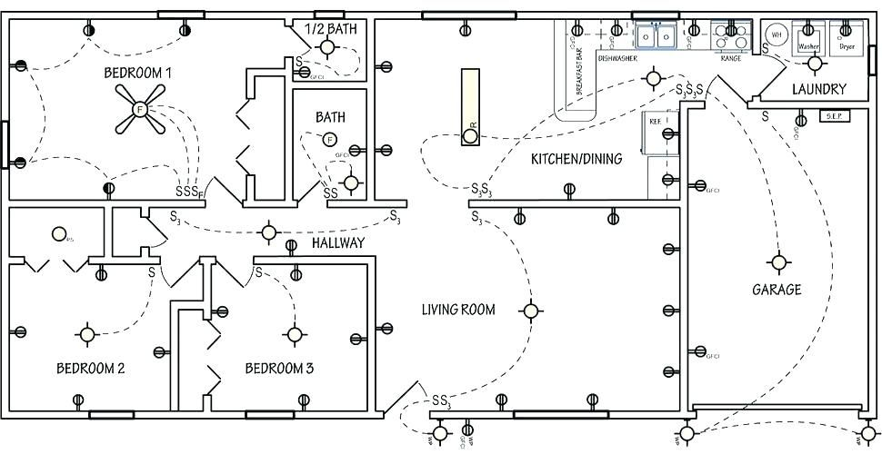 Wiring Diagram For House Light