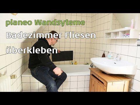 Badezimmer Wände Renovieren Mit Planeo Wandsysteme   YouTube