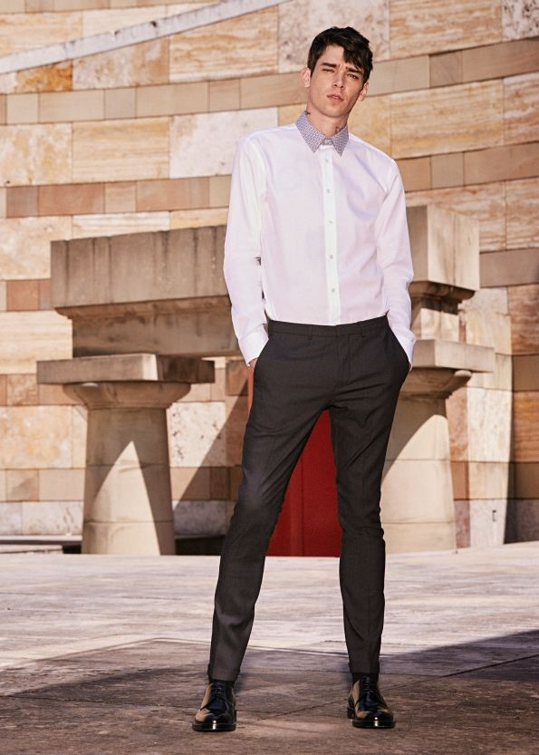 A rebellious, skater-inspired take on tailoring from the HUGO Man Spring/Summer 2016 lookbook #iamhugo