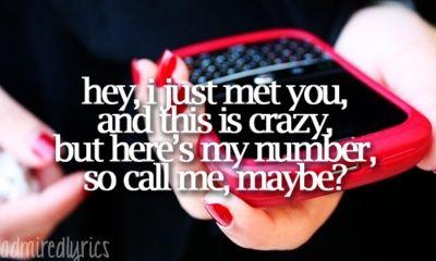 call me maybe? sarahbug97