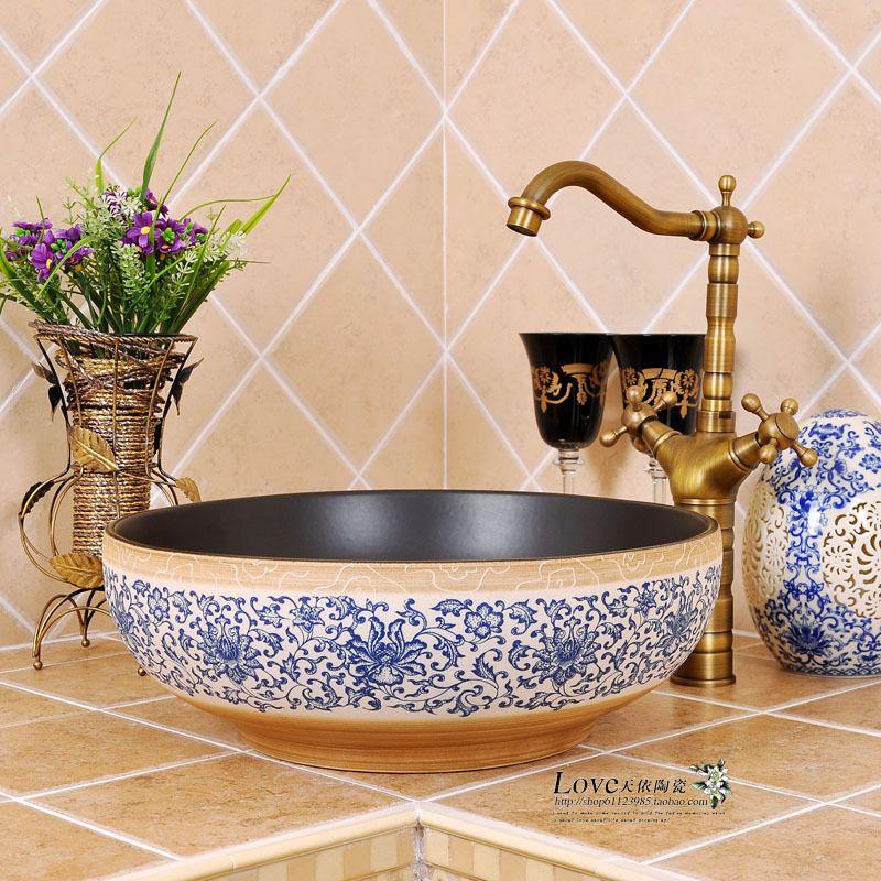 Fashion art basin wash basin wash basin mdash . US $74.93