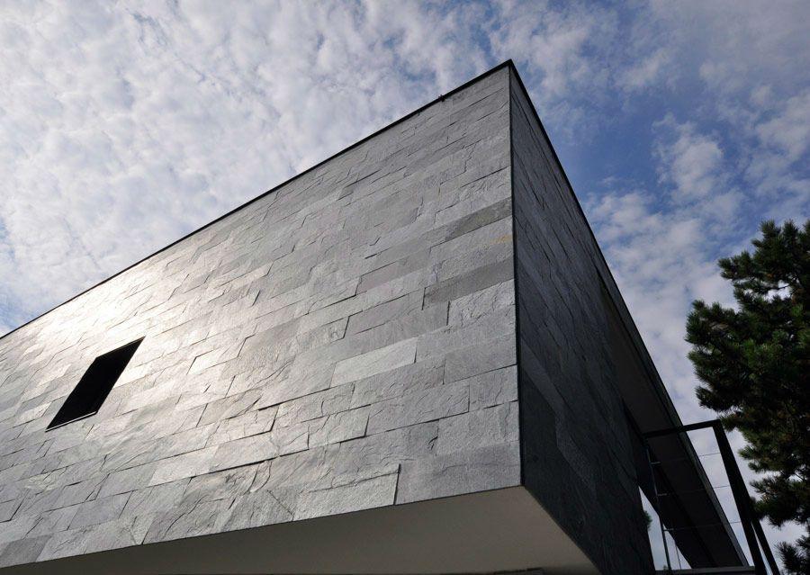 Fassaden Schubert Stone Naturstein Natursteinfassade Schiefer Fassade Natursteine