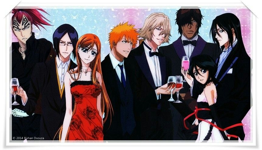 Happy New Year's from Bleach