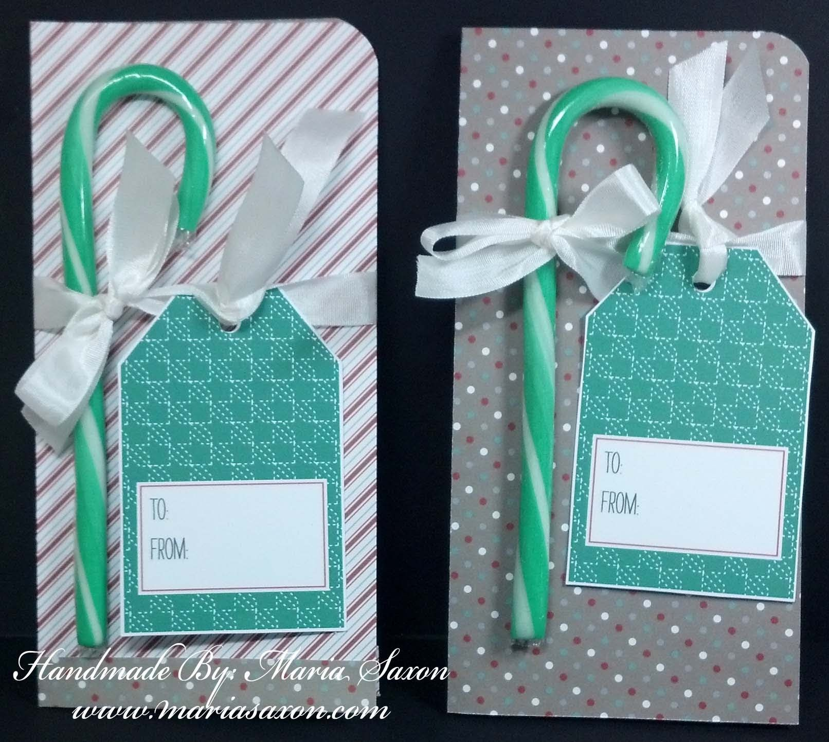 CTMH Basic Money Card Holder - Close To My Heart using Sparkle and Shine Paper Packet and holiday gift tag. Handmade by Maria Saxon www.mariasaxon.com