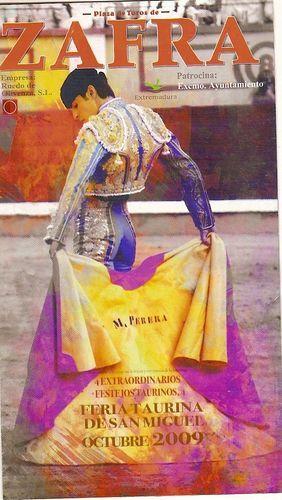 Feria Taurina de San Miguel # Como no podía ser de otra forma, Zafra también celebra, durante su Feria Ganadera, la Feria taurina de San Miguel, este año con cuatro espectáculos taurinos. Todos ellos darán comienzo a las 17:30 horas y las …