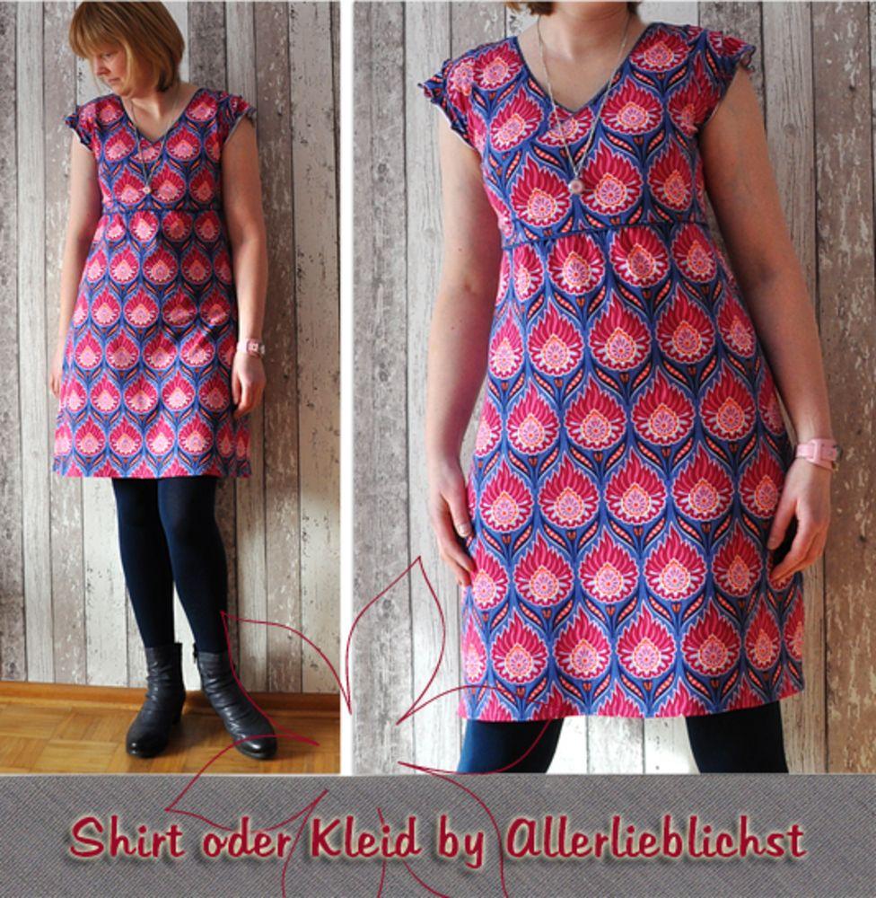 Foto zu Schnittmuster Shirt oder Kleid von Allerlieblichst ...