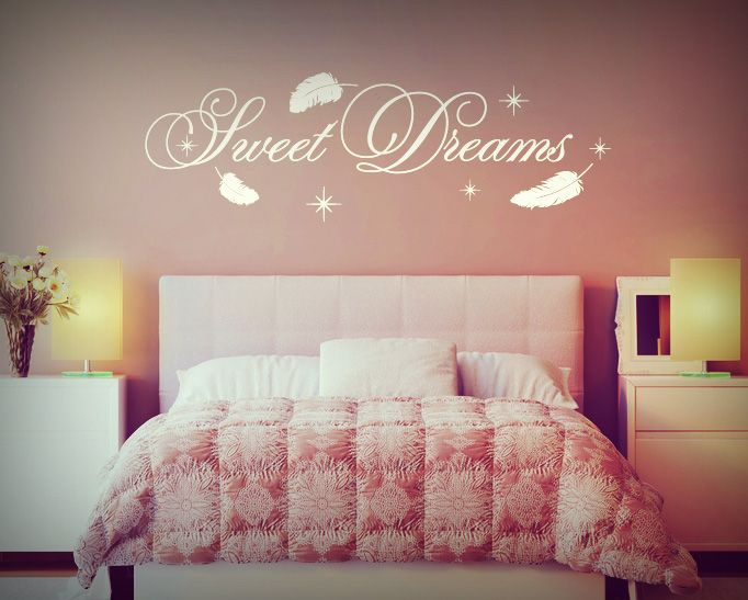 wandtattoo sweet dreams wandtattoo wandtattoo schlafzimmer und schlafzimmer. Black Bedroom Furniture Sets. Home Design Ideas
