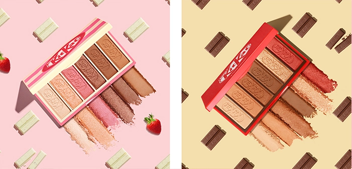 These KitKat eyeshadow palettes are too cute and we can't
