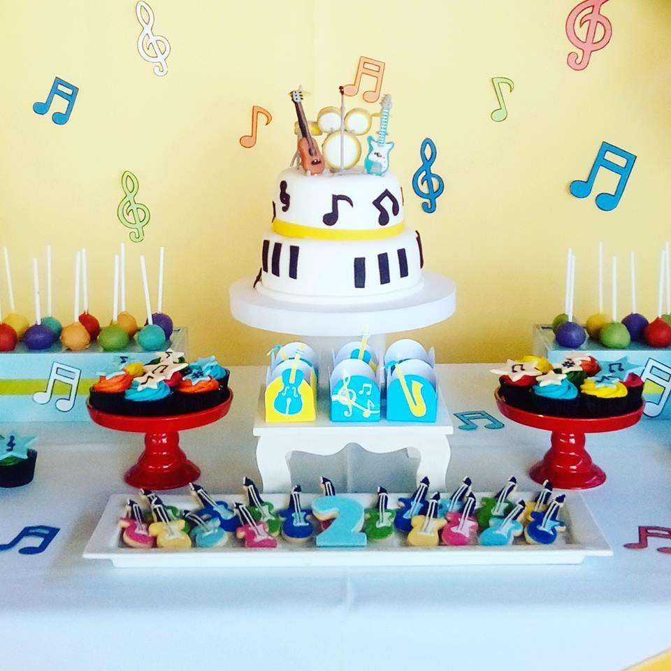 Muscial Birthday Party Ideas Photo 1 Of 12 Music Theme Birthday Music Birthday Party Theme Musical Birthday Party