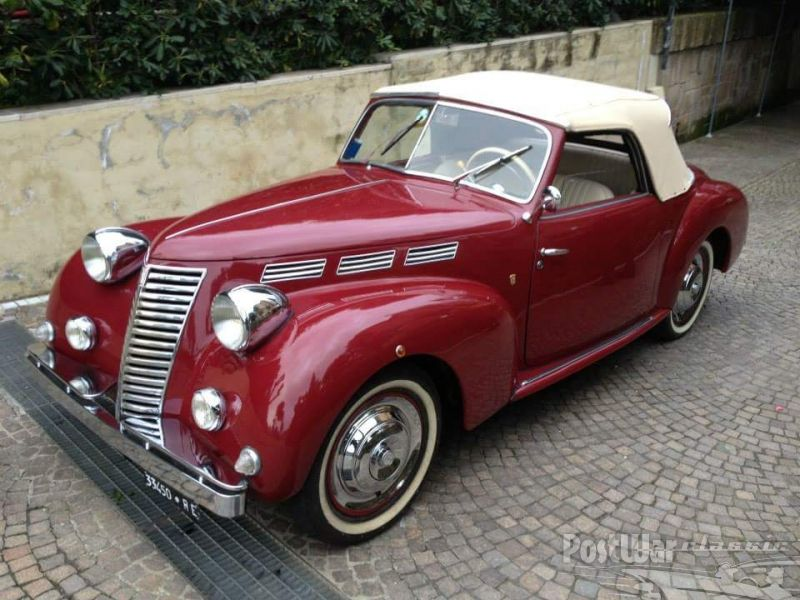 fiat 1100 b derby bertone cabrio 1949 for sale prewarcar automobies pinterest fiat cars. Black Bedroom Furniture Sets. Home Design Ideas