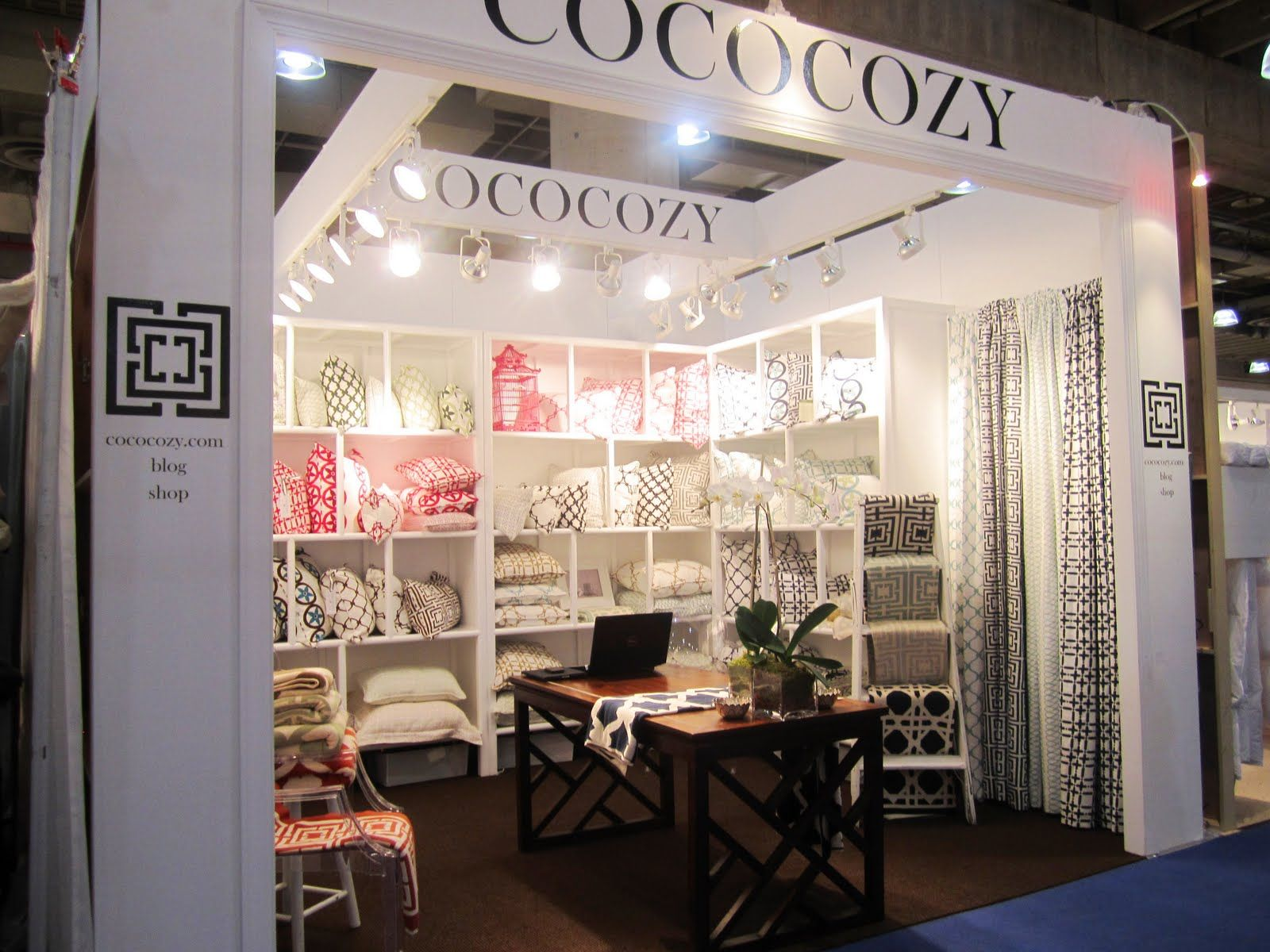 Gift And Home Decor Trade Shows Prepossessing Tradeshow Booth Boutique Style  Google Search  Boulevard . Design Inspiration