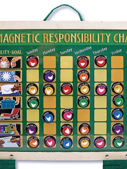 Melissa Doug Magnetic Responsibility Chart Jcpenney