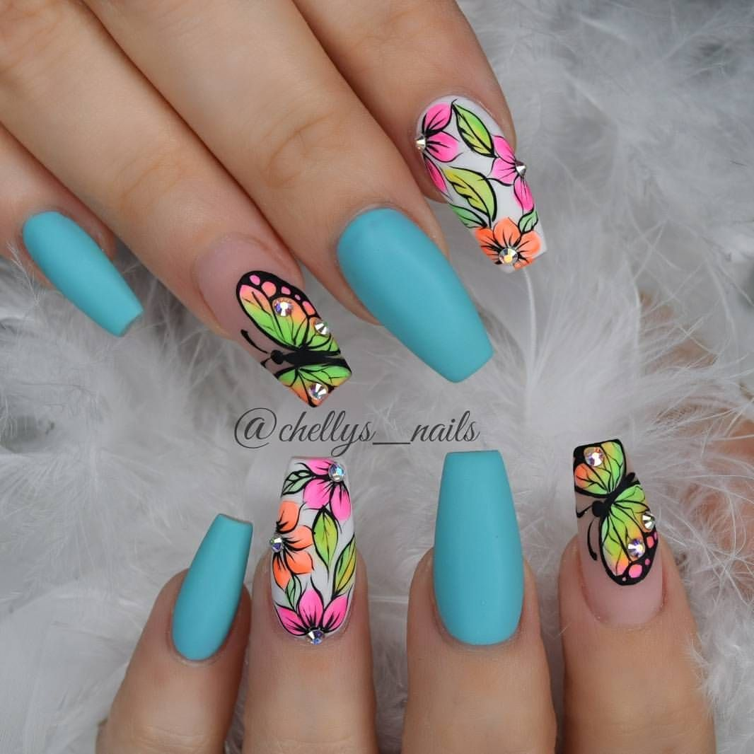 Lindas para usarlas sólo en la playa! | Manicure | Pinterest ...