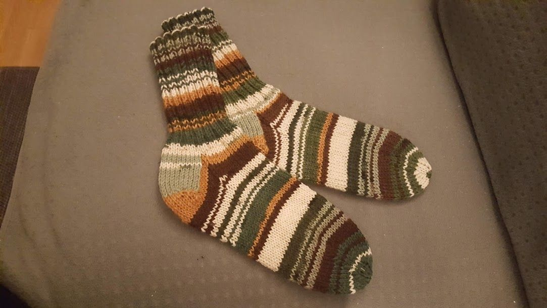 träffa ny hög kvalitet nya utgåvan stickade raggsockor i socki garn | Sticka raggsockor och ...