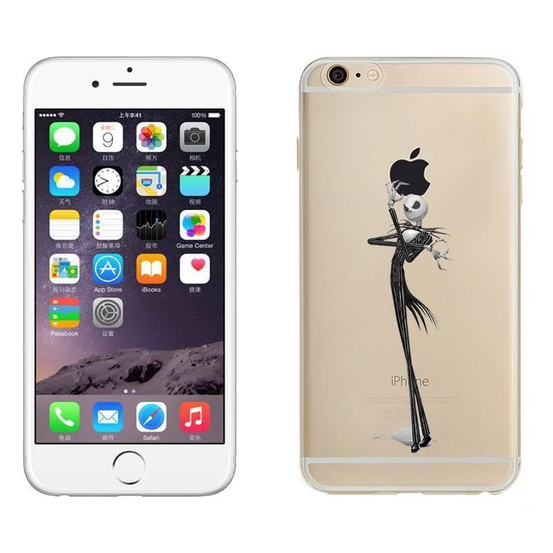 Jack Skellington Nightmare Before Christmas Phone Case For Iphone 6s 6s 7 7 Ebay Christmas Phone Case Iphone 6s Case Iphone