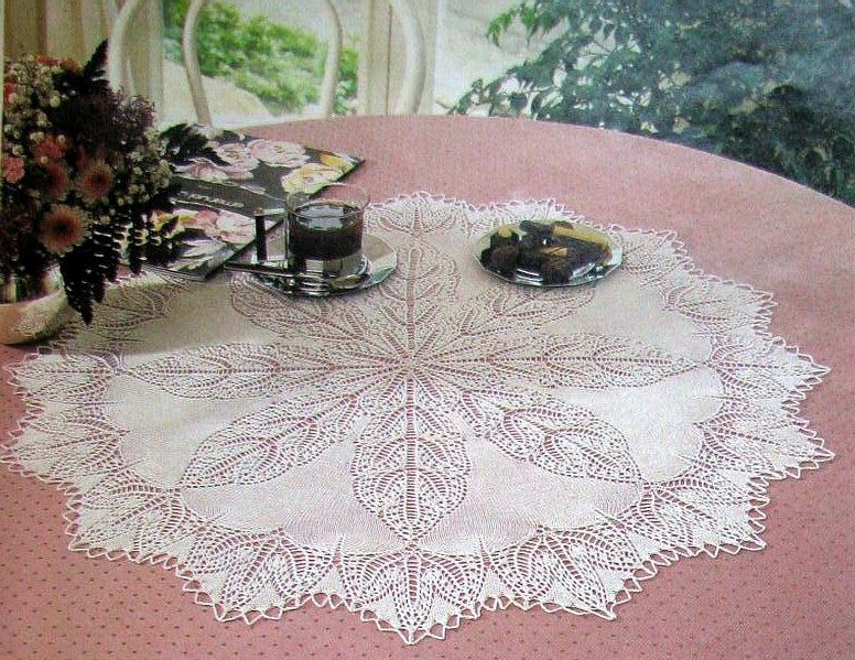 Several Knitted Doily Patterns Free Knitting Pinterest