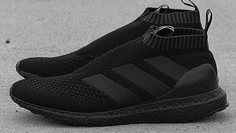 official photos c045d d37ae adidas ACE 16+ Pure Control Ultra Boost Triple Black ...