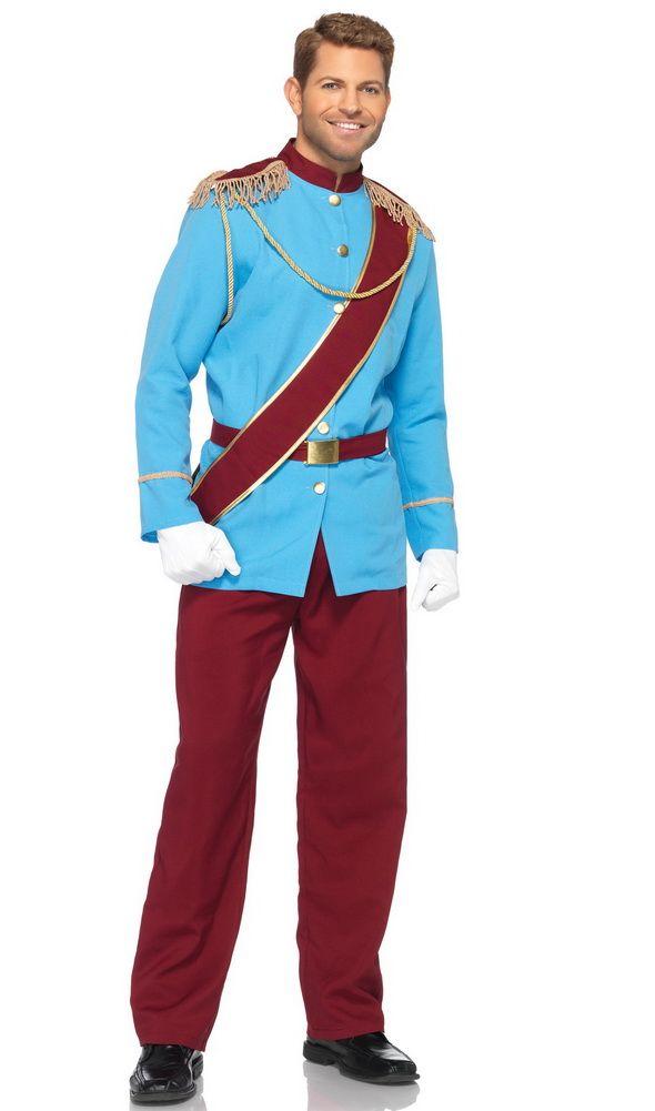 Delightful Mens Disney Costumes, Mens Prince Charming Costumes, Mens Halloween Costumes,  Mens Prince Costumes