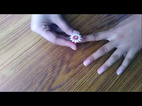 DIY Paper Quilling Bridal Necklace   How to make   JK Wedding Craft 050 - YouTube