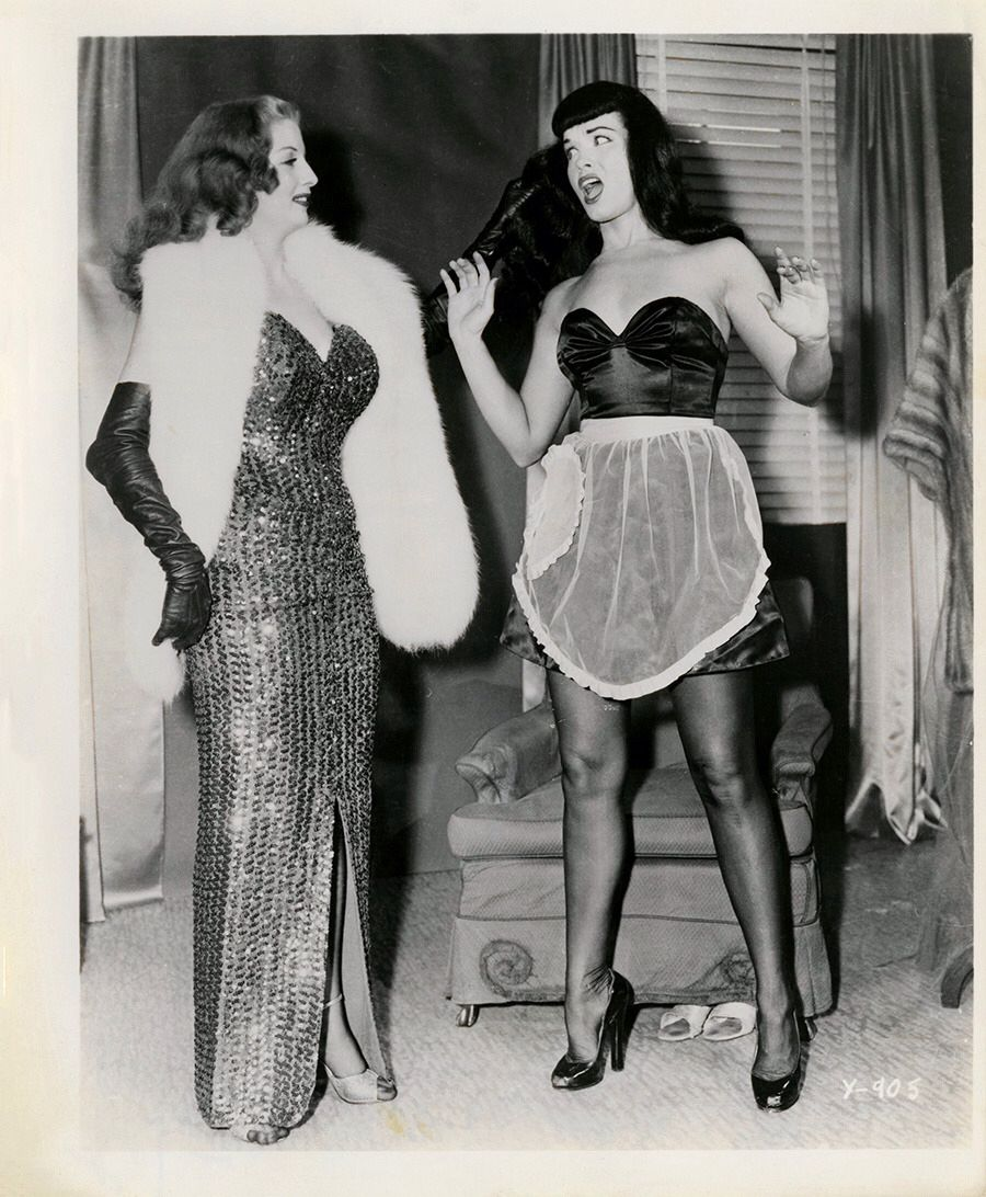 Pin by S Brooks on Bettie Page | Tempest storm, Bettie ...