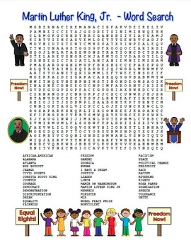 photograph about Martin Luther King Word Search Printable known as MLK Martin Luther King, Jr. Term Appear Maze! Difficult Point