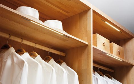 Custom Closet System By Team 7   Walk In Wardrobe For High End Homes