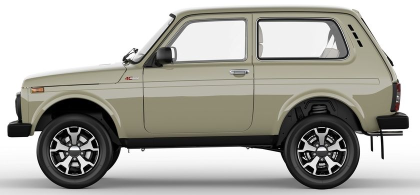 Lada Niva 4x4 Turns 40 And Gets Special Editions As Part Of The