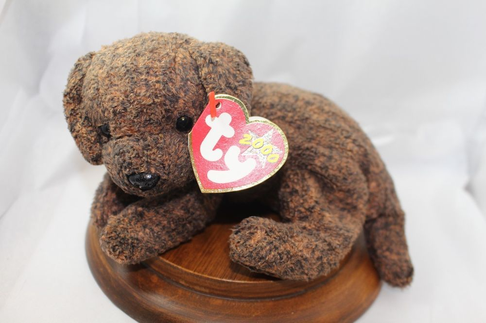 8901ea7ab9d Ty Beanie Baby  Fetcher  2000 brown pup  Ty  Beanie