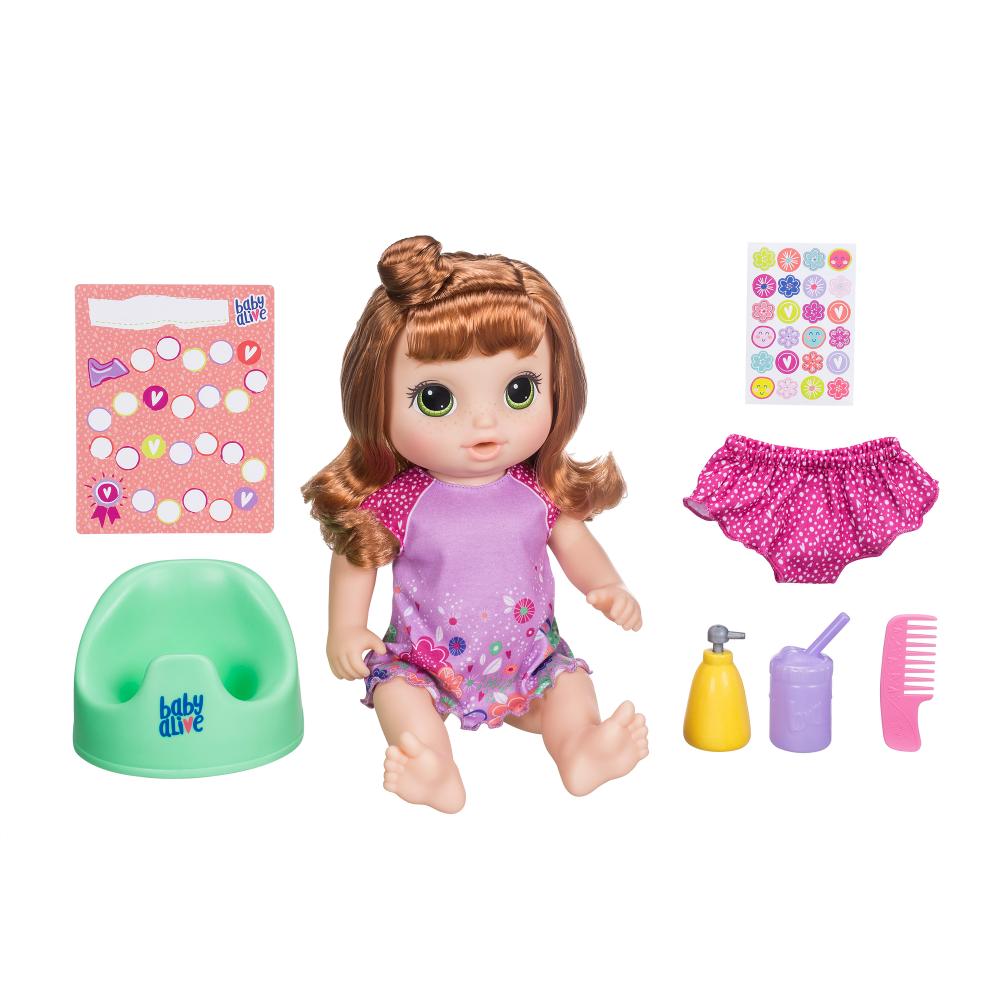 Baby Alive Potty Dance Talking Baby Doll Red Curly Hair Walmart Inventory Checker Brickseek 15 00 73 Off Baby Alive Dolls Baby Alive Baby Dolls