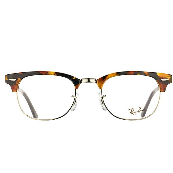 d94241a35f ... where can i buy ray ban clubmaster rx 5154 5491 black havana plastic  eyeglasses 51mm 128