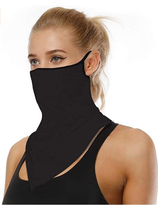 Men Women Face Scarf Bandana Ear Loops Face Balaclava Neck Gaiters for Dust  Mask | Neck gaiter, Women's neck gaiters, Fashion